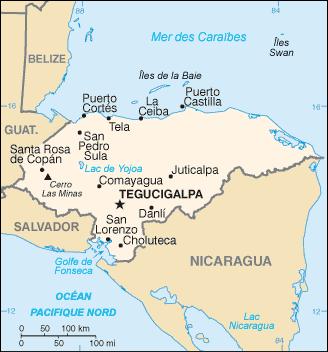 Honduras_carte