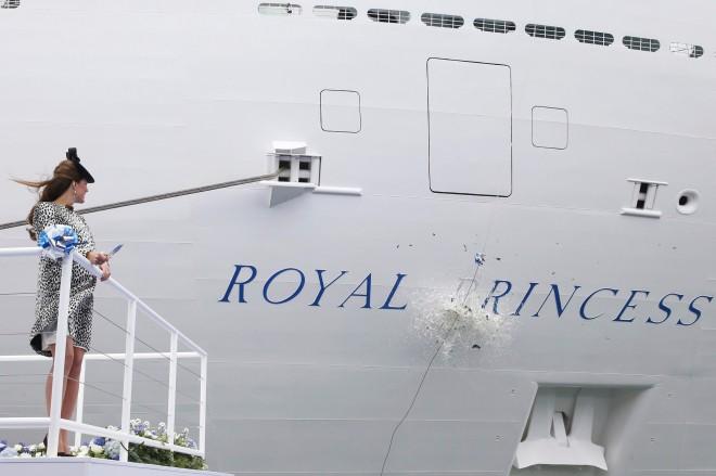 Bapteme-du-navire-Royal-Princess-le-13-juin-2013