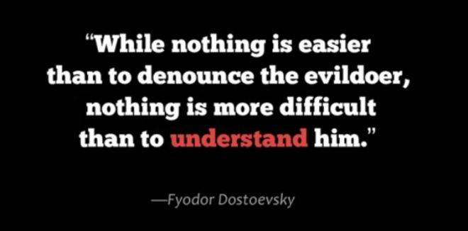 dostoievsky evildoer