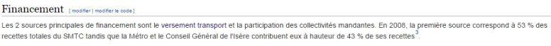 financement SMTC