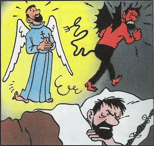 diable et ange haddock