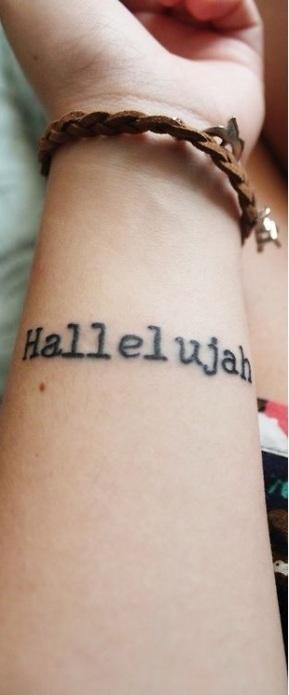 hallelujahs